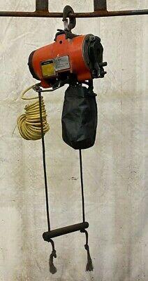 Gardner-denver Kg-5 1100lb Air Pneumatic Chain Hoist 14 9 Lift