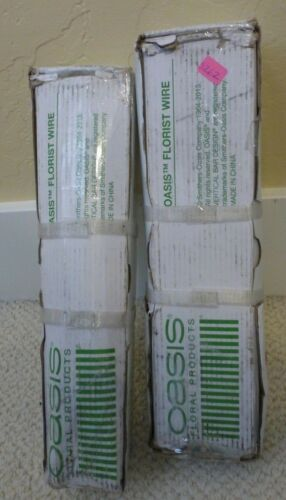 Lot of 2 OASIS Floral Products 23 Gauge - 12 in. - 33-28223 - Florist Wire 12 #