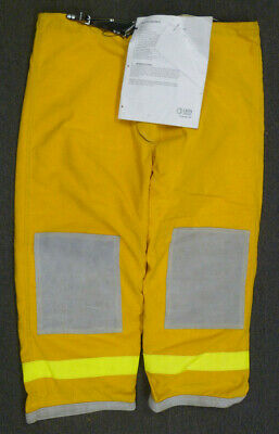 52x30 Janesville Pants Firefighter Turnout Bunker Fire Gear W Liner P004
