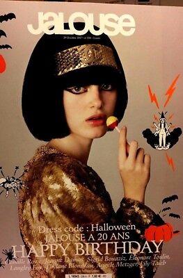 JALOUSE* n°206 du 29/10/2017*Dress code:HALLOWEEN*Éléonore Toulin,Angèle Metzger (Dress Code Halloween)