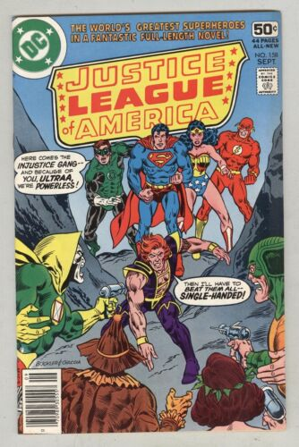 Justice League of America #158 September 1978 VF