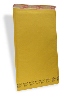 7 50 14.25 X 20 Ecolite Kraft Bubble Padded Envelopes Mailers 14.25 X 20