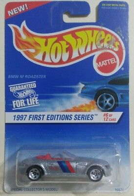 HOT WHEELS BMW M ROADSTER 1997 FIRST EDITIONS 1/64 DIECAST MALAYSIA CAR NEW