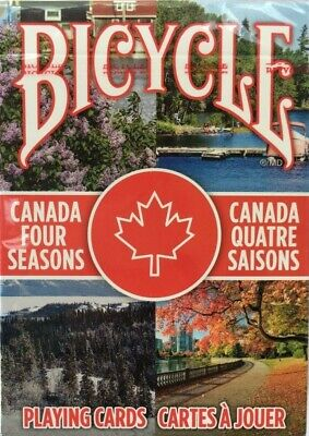 Bicycle Canada Four Seasons Playing Cards - Poker - Collectible Deck - USPCC