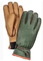 Lost green leather gloves Hestra - updated right hand found