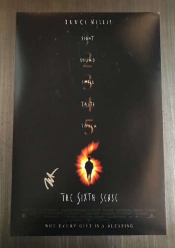 * HALEY JOEL OSMENT * signed autographed 12x18 poster photo * THE SIXTH SENSE *