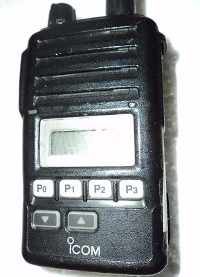 Broken - Icom F50v Vhf Portable Radio Narrow Fire Pager Murs - Parts Radio