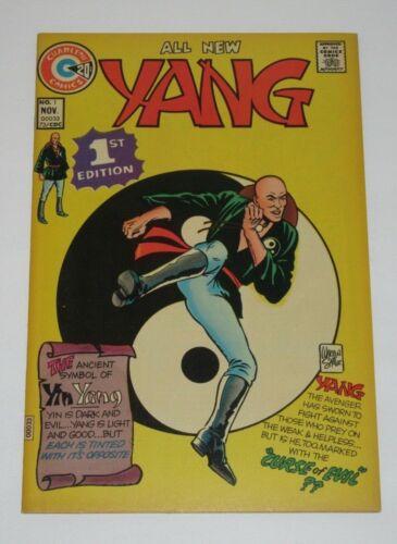 Yang #1 1973 Charlton Comics