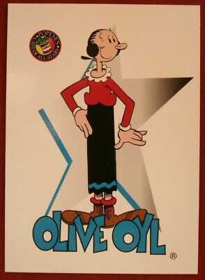 POPEYE - Individual Card #02 - Olive Oyl - Card Creations - 1994