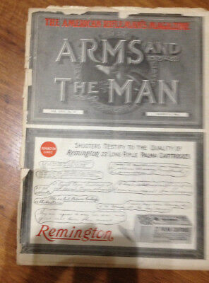 Arms and the Man magazine March 15, 1922