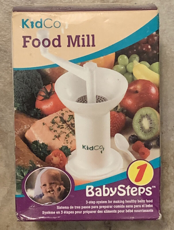 KidCo Food Mill Baby Food Grinder Babysteps Excellent  Condition