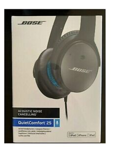 Bose quite comfort QC 25 noise cancelling headphones.