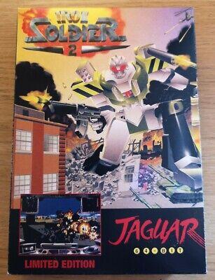 Iron Soldier 2 - Atari Jaguar (RARE Limited Edition Cartridge Version)