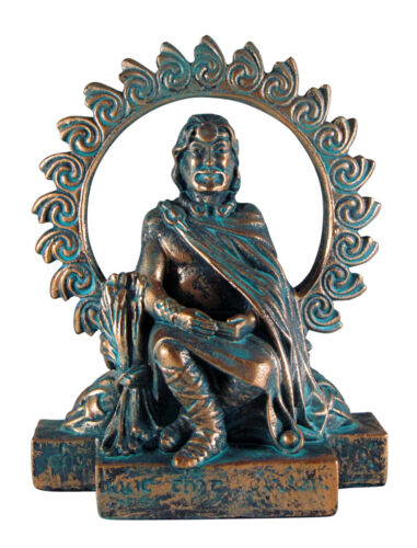 Small Lugh Figurine Celtic God of Harvest Druid Wicca Pagan Statue Dryad Design