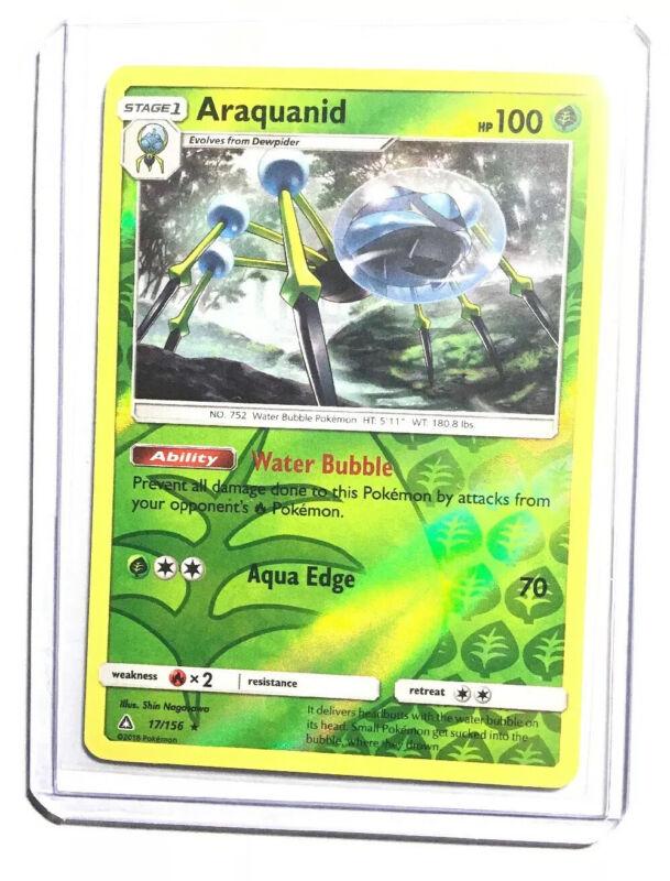 Araquanid #17//156 Ultra Prism Mint Pokémon TCG 4x Dewpider #16//156 1 rev holo