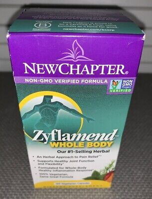 New Chapter Zyflamend Whole Body Herbal Approach to Pain Relief 120 Caps. 9/21 for sale  Shipping to South Africa
