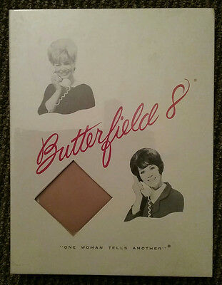 Butterfield 8 Vintage 1960's Nylon Stockings 4 Pairs Hoisery NEW Size 10 Sealed