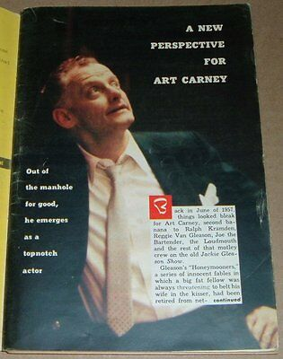 1959 TV ARTICLE~ART CARNEY~ED NORTON ON THE HONEYMOONERS~HARVEY SPECIAL