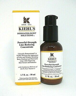 Kiehl's Powerful Strength Line Reducing Concentrate ~ 1.7 oz / BNIB