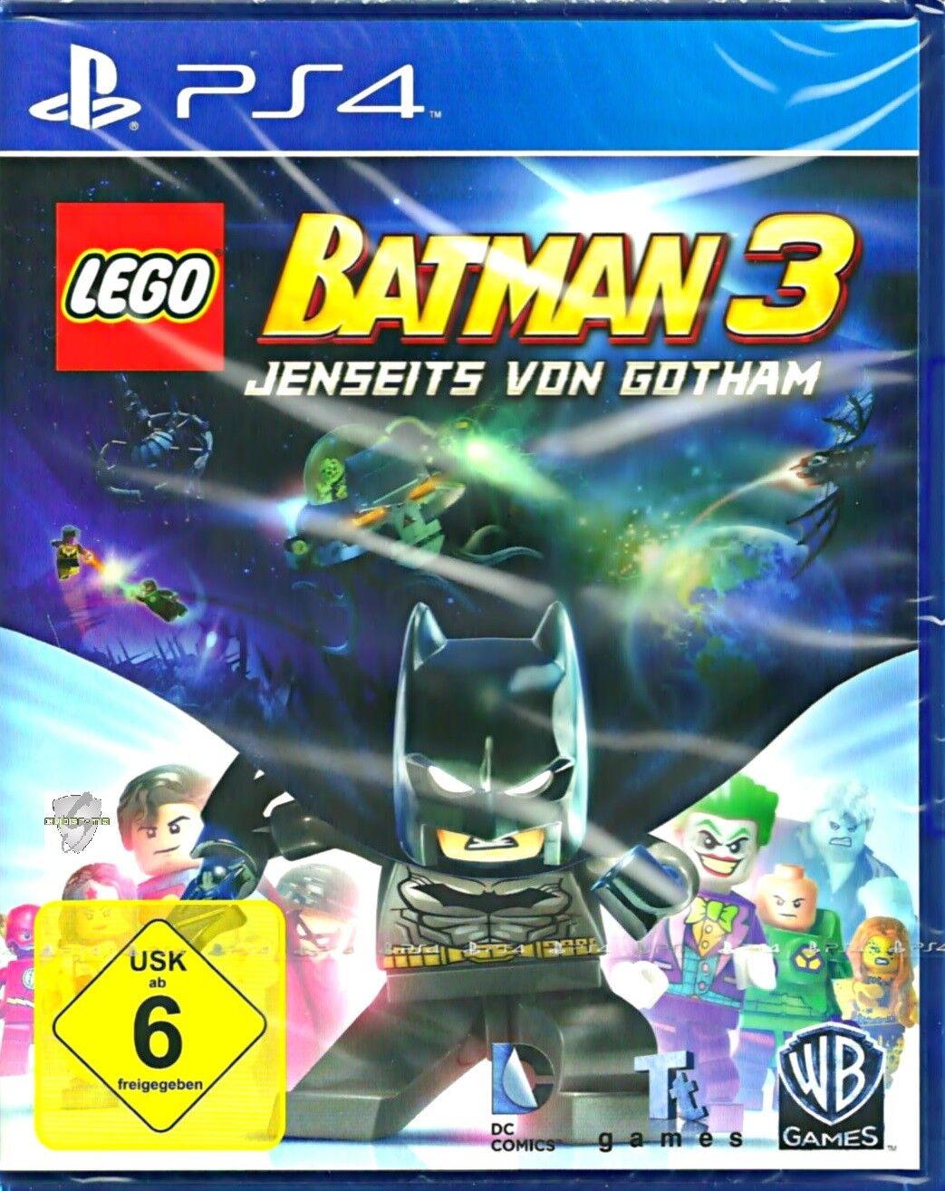 LEGO Batman 3 PS4 ( PlayStation 4 ) Neu & OVP