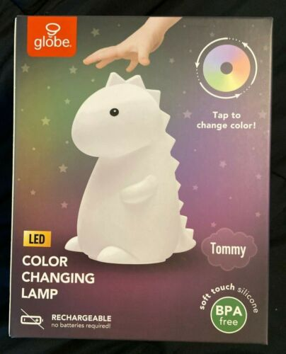 Tommy Dinosaur MultiColor changing  Rechargeable Silicone Night Light TikTok