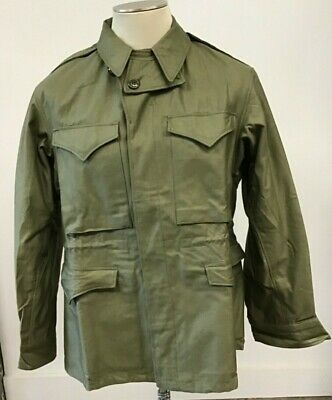 U.S.ARMY WAR WORLD  2  M-1943 FIELD COMBAT JACKET SIZE 36R 4/17/1944 Dead Stock
