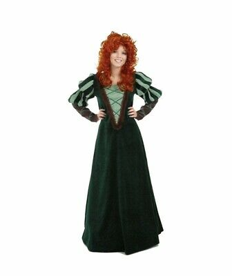 Brave Merida Scottish Forest Princess Cosplay Green Costume - Brave Cosplay Kostüme