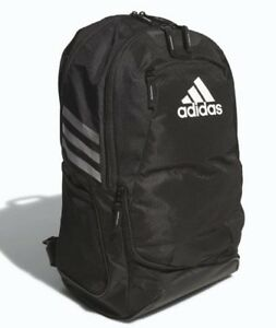 New Adidas Stadium Ii Team Soccer Backpack Bag 5136891 Black 60 Retail