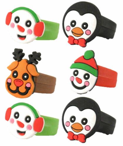 Christmas+Ring+x+2+Kids+Toy+Stocking+Filler+Xmas+Eve+School+Gift+