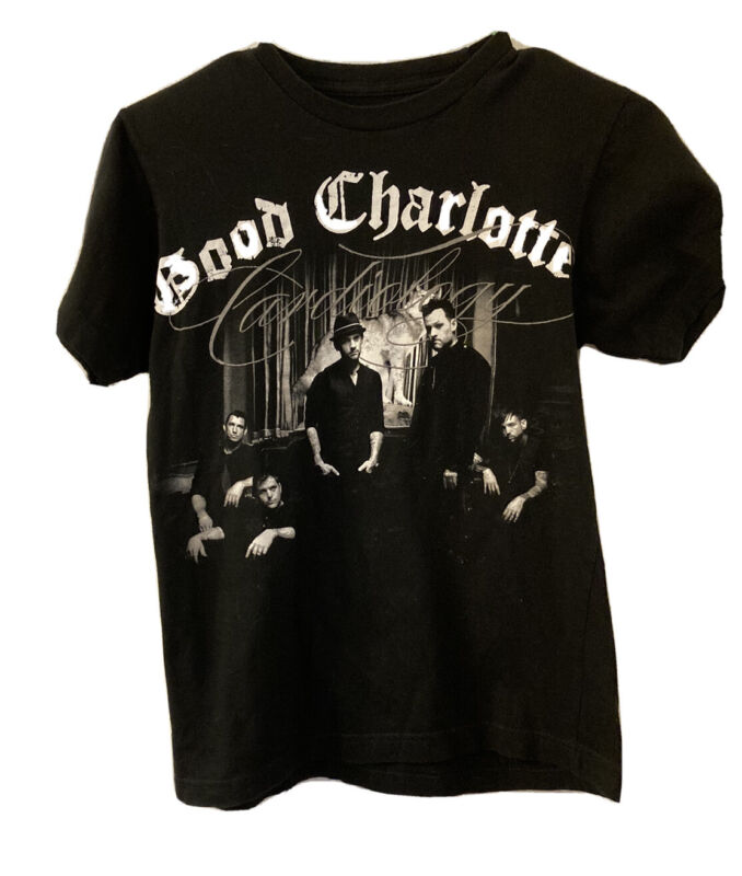 Good Charlotte 2011 Concert Tour Tshirt Size Small