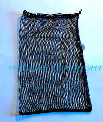 Mesh Drawstring Bag for Dive Gear Fins Snorkel SCUBA Snorkel