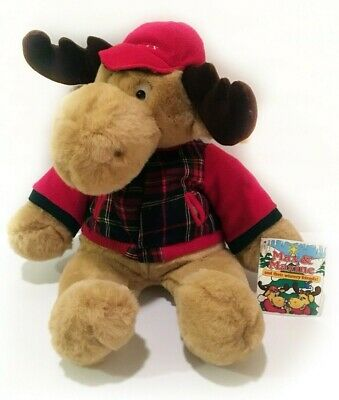 MAX the MOOSE Commonwealth Plush Stuffed Animal Toy 1997 20
