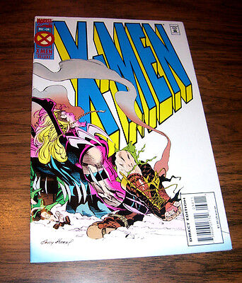 X Men Issue  39 Direct Edition Marvel 1994 Andy Kubert