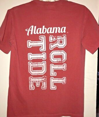 Roll Tide Comfort Color T-Shirt Alabama Crimson Tide Bama - Roll Tide Colors