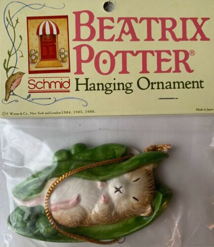 Beatrix Potter Timmy Willie Willy Flat Ornament Schmid New