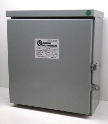 Myers Pacific Sc2a 240 Industrial Control Enclosure 240V Outdoor Rainproof 3R