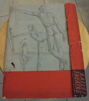 "VTG 1947-48 Program~""BALLET THEATRE FOUNDATION""~NYC~"