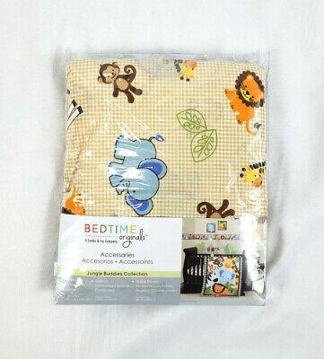 Bedtime Originals by Lambs & Ivy Brown Jungle Buddies Baby Crib Sheet, 28
