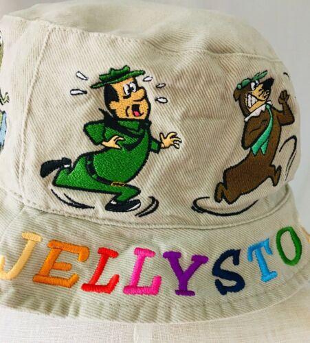 Vintage 2004 Jellystone Park Camp Resort Embroidered Bucket Hat - RARE