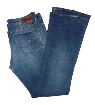 Gebraucht, G-Star Damen Jeans Blau Bootleg WMN 3301 (Stone washed look) W32 / L32 gebraucht kaufen  Berlin