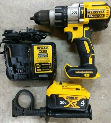 Dewalt 20v Max Xr Brushless 12 Hammer Drill W 4.0ah Battery Model Dcd996