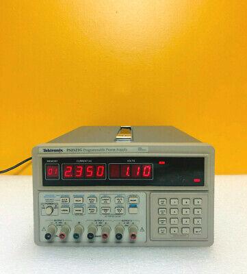 Tektronix Ps2521g 130 Watt Gpib Triple Output Dc Power Supply. Tested