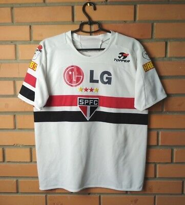 Sao Paulo Home football shirt 2005 size XL jersey soccer Topper image