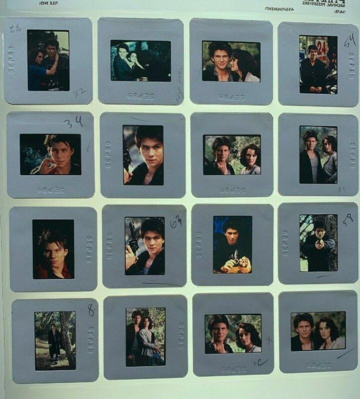 16 Heathers Movie 35mm Slides Winona Ryder Christian Slater Vtg Promo Lot #2