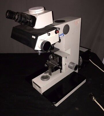 Vickers Photoplan Microscope W 1 Objective 1 Lamp