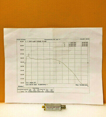 Microwave Semiconductor Corp Msc Mc5024 1.0 To 10 Ghz Noise Source. Tested