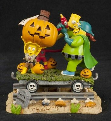 Terror Train Halloween (The Simpsons Halloween Train of Terror To The Rescue Hamilton Figurine )