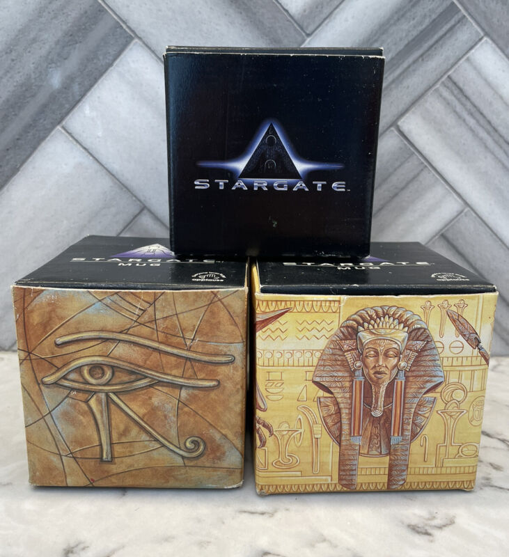 Stargate 1994 Movie Movie Mug Anubis & Horus / Egyp Ra Scifi & movie release mug