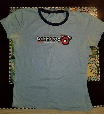 2005 Rare Official Bonnaroo Music Festival TShirt Size XL Distressed VTG Woman's