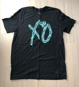 Starboy XO Size XL T Shirt Official Issue Weeknd